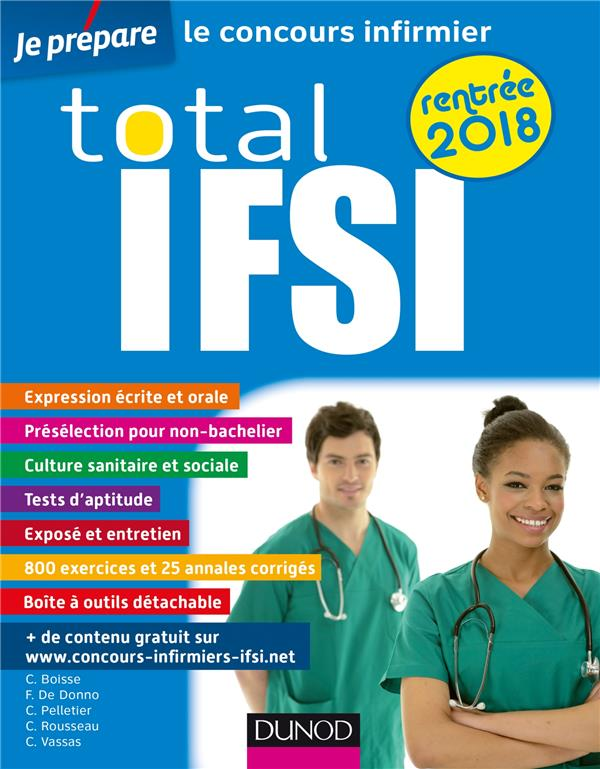 TOTAL IFSI RENTREE 2018 - CONCOURS INFIRMIER
