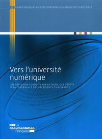VERS L'UNIVERSITE NUMERIQUE N 8 OCTOBRE 2010