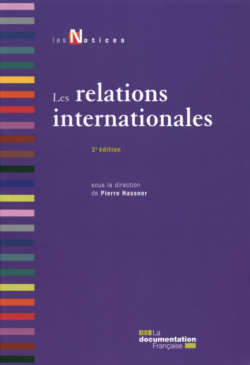 RELATIONS INTERNATIONALES (2ED)