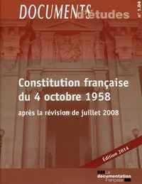 CONSTITUTION FRANCAISE DU 4 OCTOBRE 1958 - DE N 104 2014
