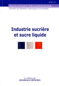 INDUSTRIE SUCRIERE ET SUCRE LIQUIDE N 5913 2011