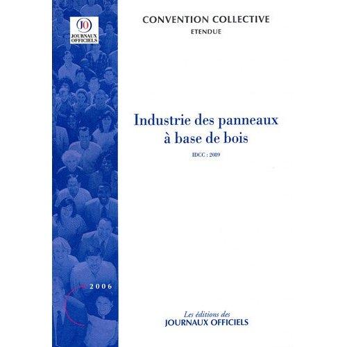 INDUSTRIE DES PANNEAUX A BASE DE BOIS N 3113 2006