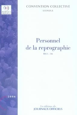 PERSONNEL DE LA REPROGRAPHIE N 3027 2011