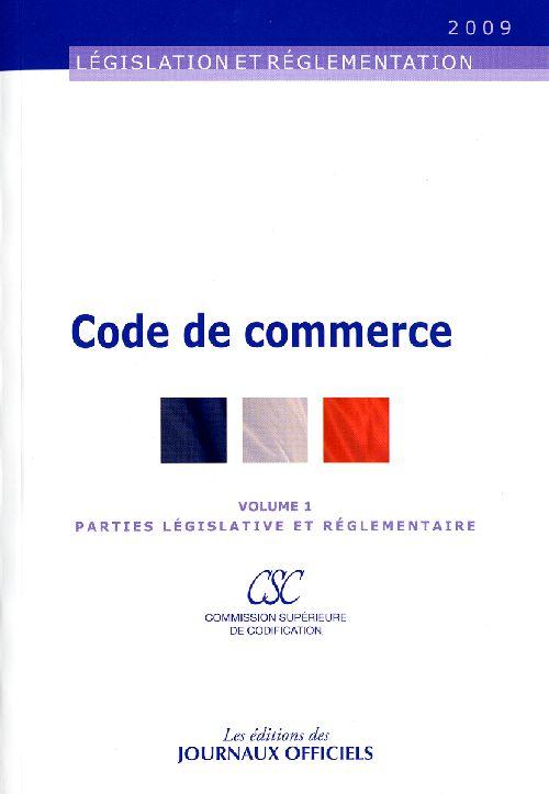 CODE DE COMMERCE T1+T2 N 20048 2009 2V