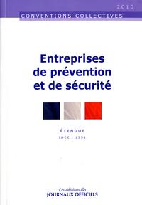 ENTREPRISES DE PREVENTION ET DE SECURITE N 3196 2012 - ETENDUE IDCC : 1351