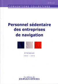 PERSONNEL SEDENTAIRE DES ENTREPRISES DE NAVIGATION N 3216 2012