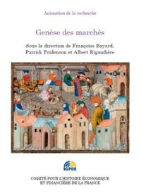 GENESE DES MARCHES