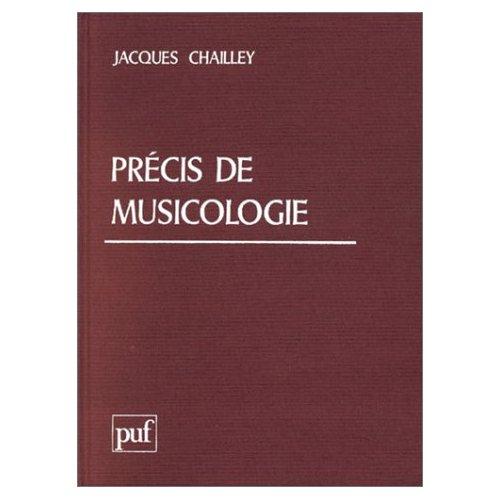 PRECIS DE MUSICOLOGIE
