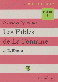 IAD -PREMIERES LECONS SUR FABLES DE LA FONTAINE (2ED)