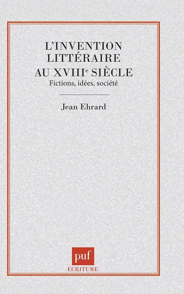 IAD - INVENTION LITTERAIRE AU XVIIIE S.