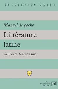 IAD - LITTERATURE LATINE MANUEL DE POCHE