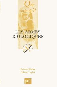 IAD - LES ARMES BIOLOGIQUES QSJ 3599