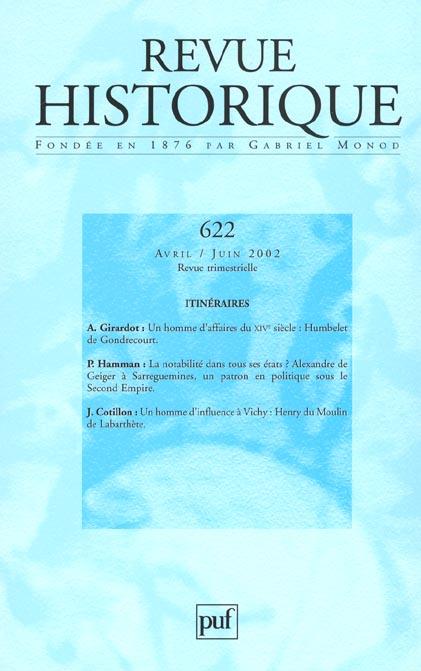 IAD - REVUE HISTORIQUE 2002 - N  622