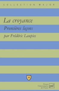 IAD - LA CROYANCE. PREMIERES LECONS