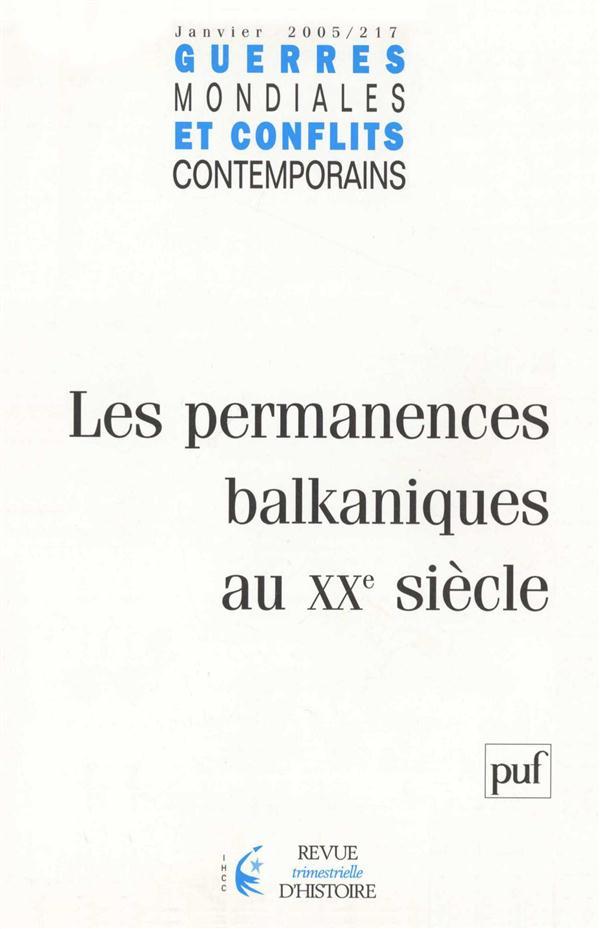 IAD - GUERRES MONDIALES ET CONFLITS CONTEMPORAINS N 217 JANVIER 2005