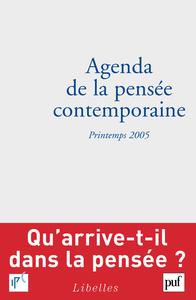 IAD - AGENDA DE LA PENSEE CONTEMPORAINE PRINTEMPS 2005