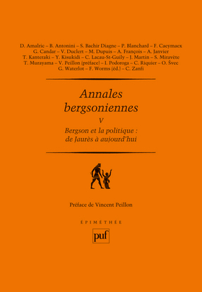 ANNALES BERGSONIENNES V