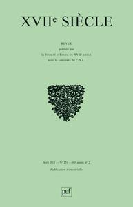 IAD - XVIIE SIECLE 2011 N0 251 - JOURNEES INTERNATIONALES JEAN-PIERRE CAMUS