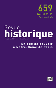 REVUE HISTORIQUE 2011 N 659