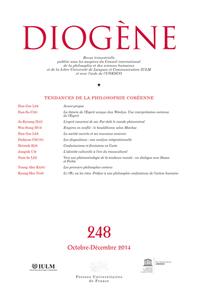 IAD - DIOGENE OCTOBRE-DECEMBRE 2014 N 248