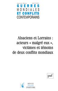 IAD-GUERRES MONDIALES ET CONFLITS CONTEMPORAINS 2017 N 265