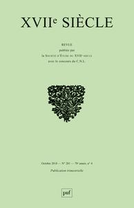 XVIIE SIECLE 2018 - N 281
