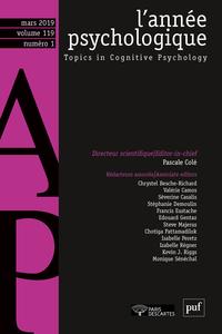 ANNEE PSYCHOLOGIQUE 119-1