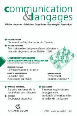 COMMUNICATION ET LANGAGES N  133 (3/2002)