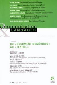 COMMUNICATION & LANGAGES 2/2004