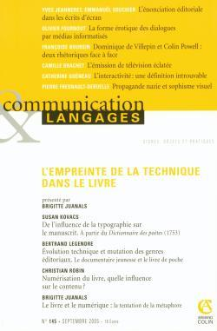 COMUNICATION & LANGAGES 3/2005