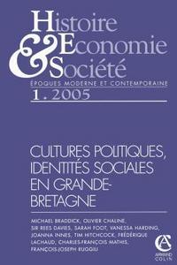 HISTOIRE, ECONOMIE & SOCIETE 1/2005