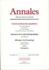 ANNALES. HISTOIRE, SCIENCES SOCIALES, VOL. 61 (1/2006)