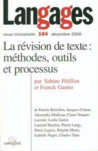 LANGAGES N  164 (4/2006)