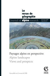 REVUE DE GEOGRAPHIE ALPINE - TOME 95 (4/2007)