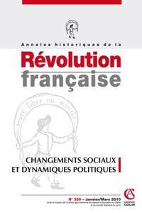 ANNALES HISTORIQUES DE LA REVOLUTION FRANCAISE N  359 (1/2010)