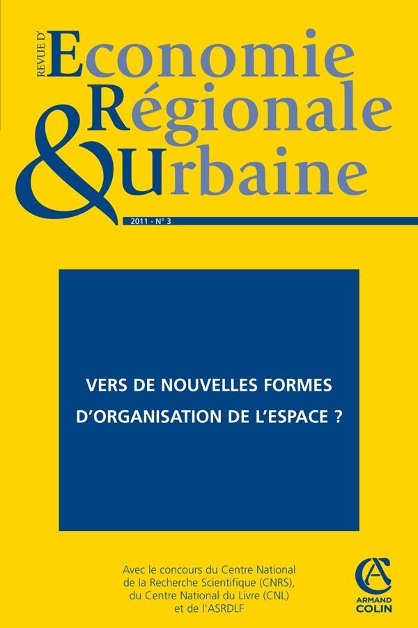 REVUE D'ECONOMIE REGIONALE & URBAINE (3/2011)