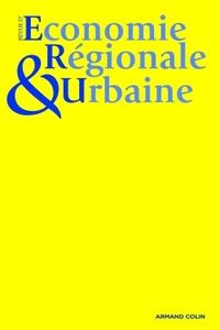 REVUE D'ECONOMIE REGIONALE & URBAINE (3/2014) VARIA