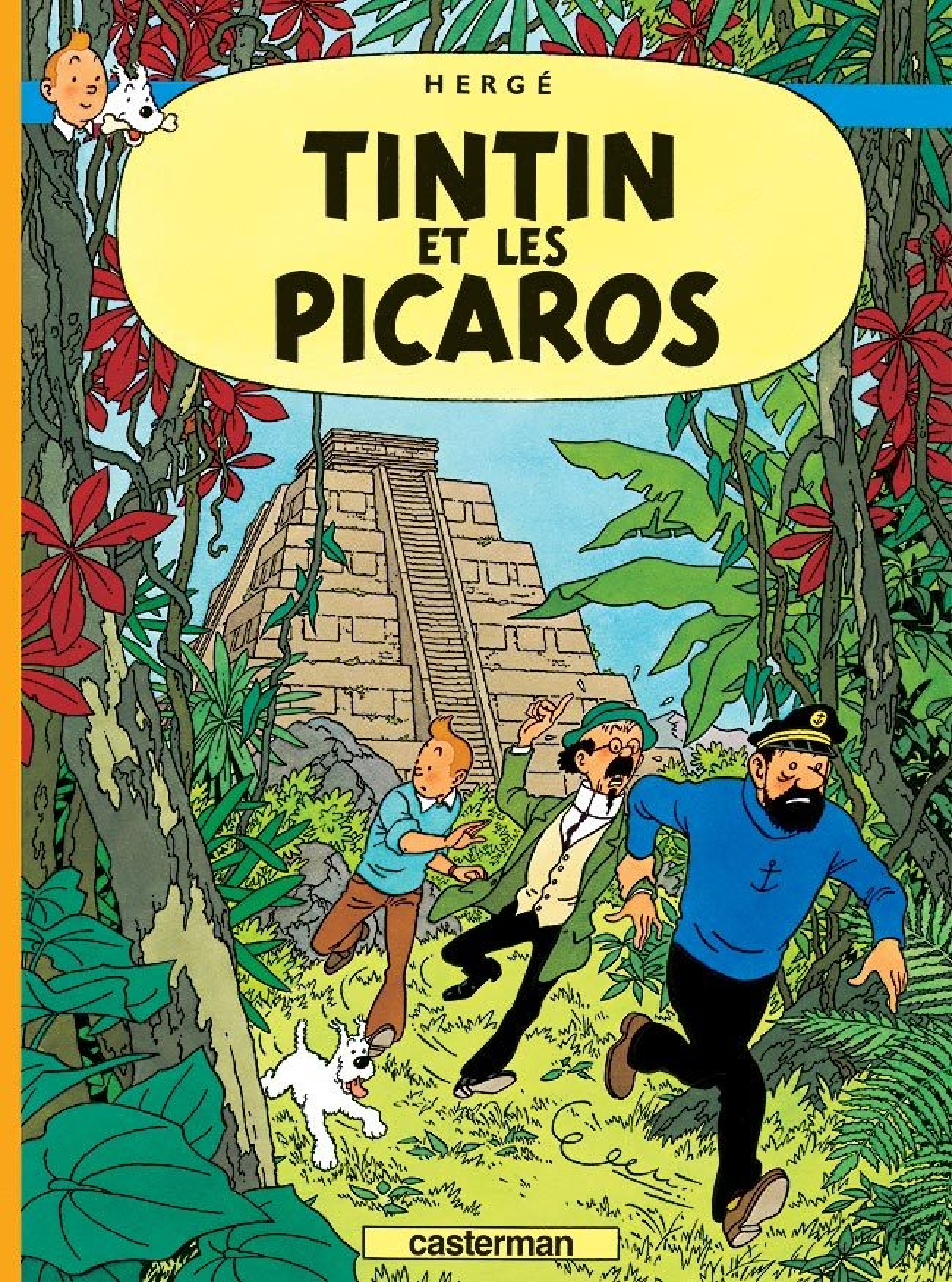 TINTIN ET LES PICAROS T23