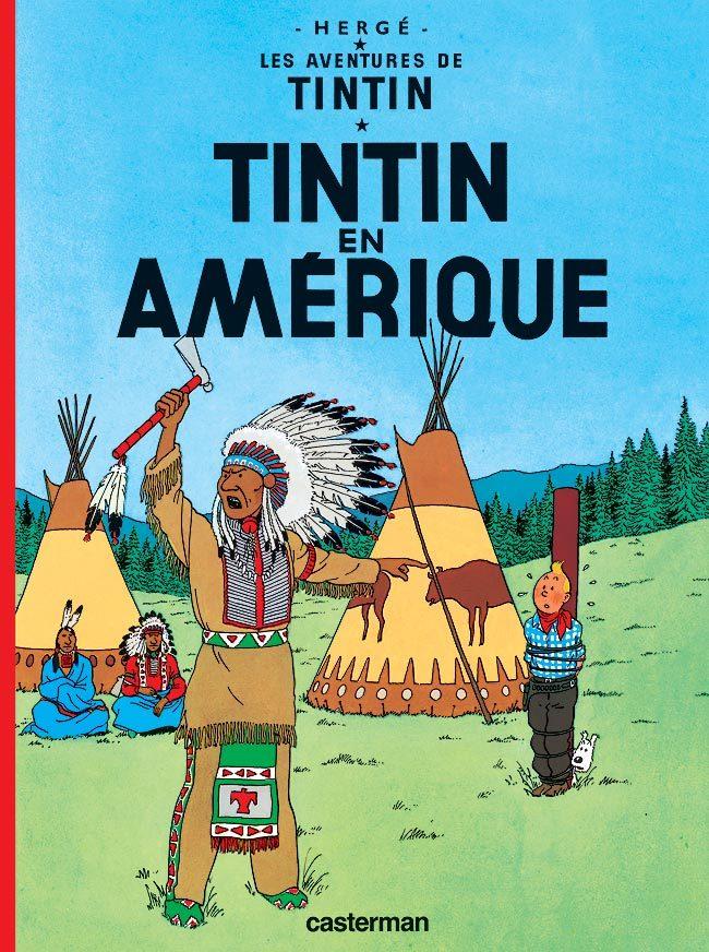TINTIN - T03 - TINTIN EN AMERIQUE