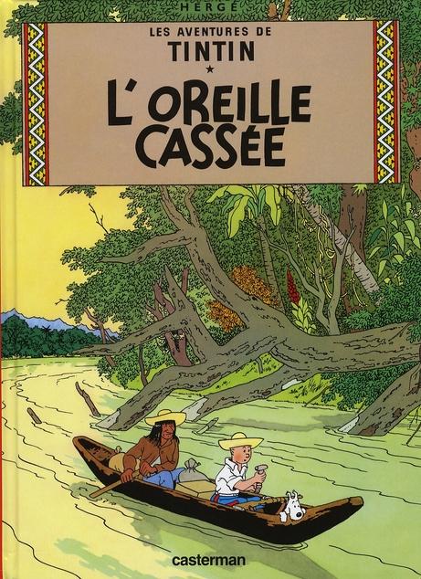 L' OREILLE CASSEE - PETIT FORMAT COULEURS - T6