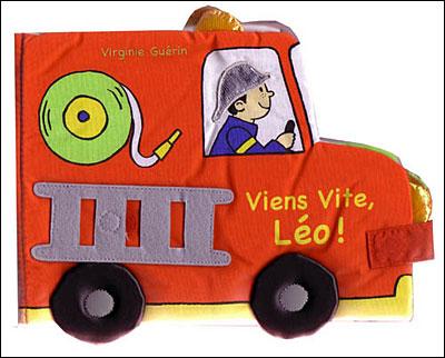 VIENS VITE LEO (LIVRE TISSU)