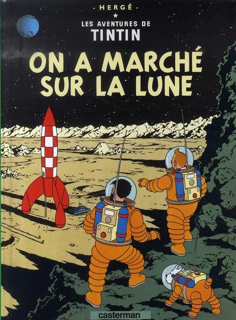 ON A MARCHE SUR LA LUNE - PETIT FORMAT COULEURS - T17