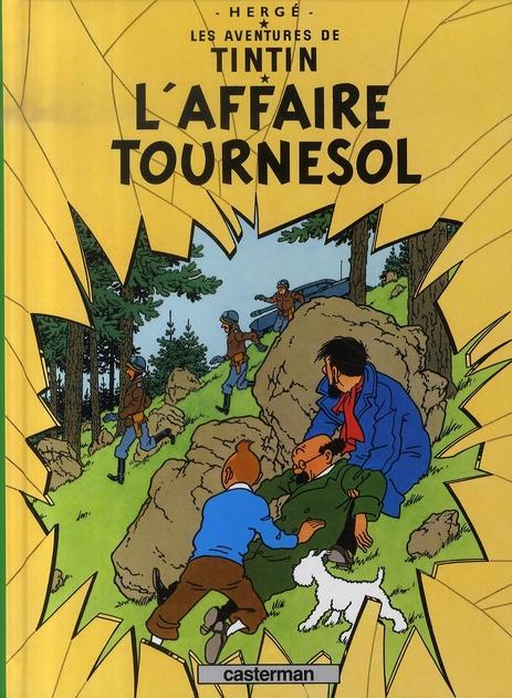 L' AFFAIRE TOURNESOL - LES PETITS FORMATS COULEURS - T18