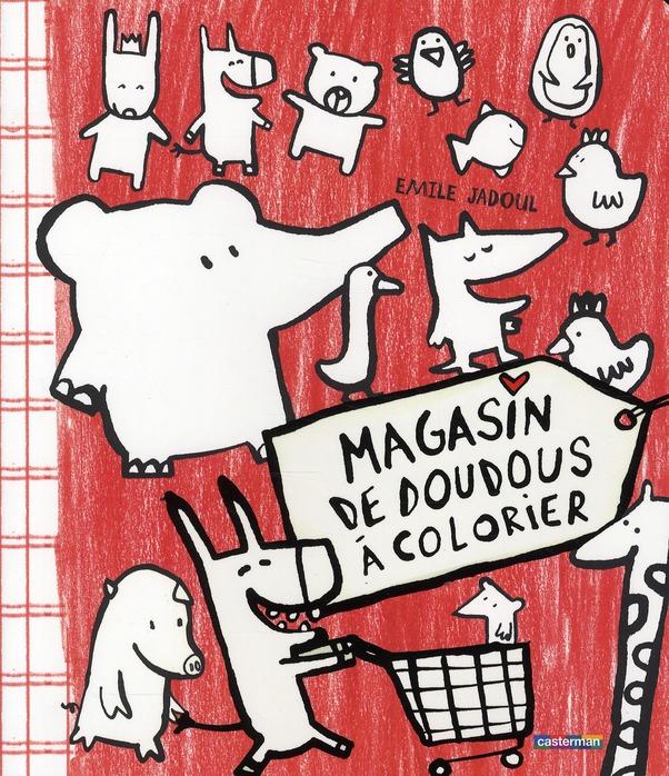 MAGASIN DE DOUDOUS A COLORIER