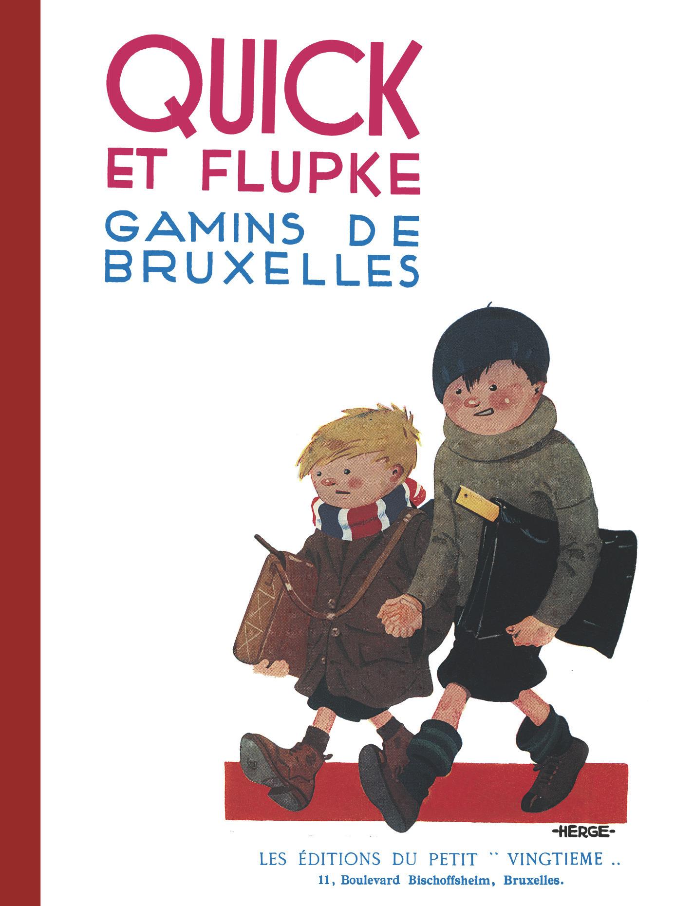 QUICK ET FLUPKE - T01 - GAMINS DE BRUXELLES