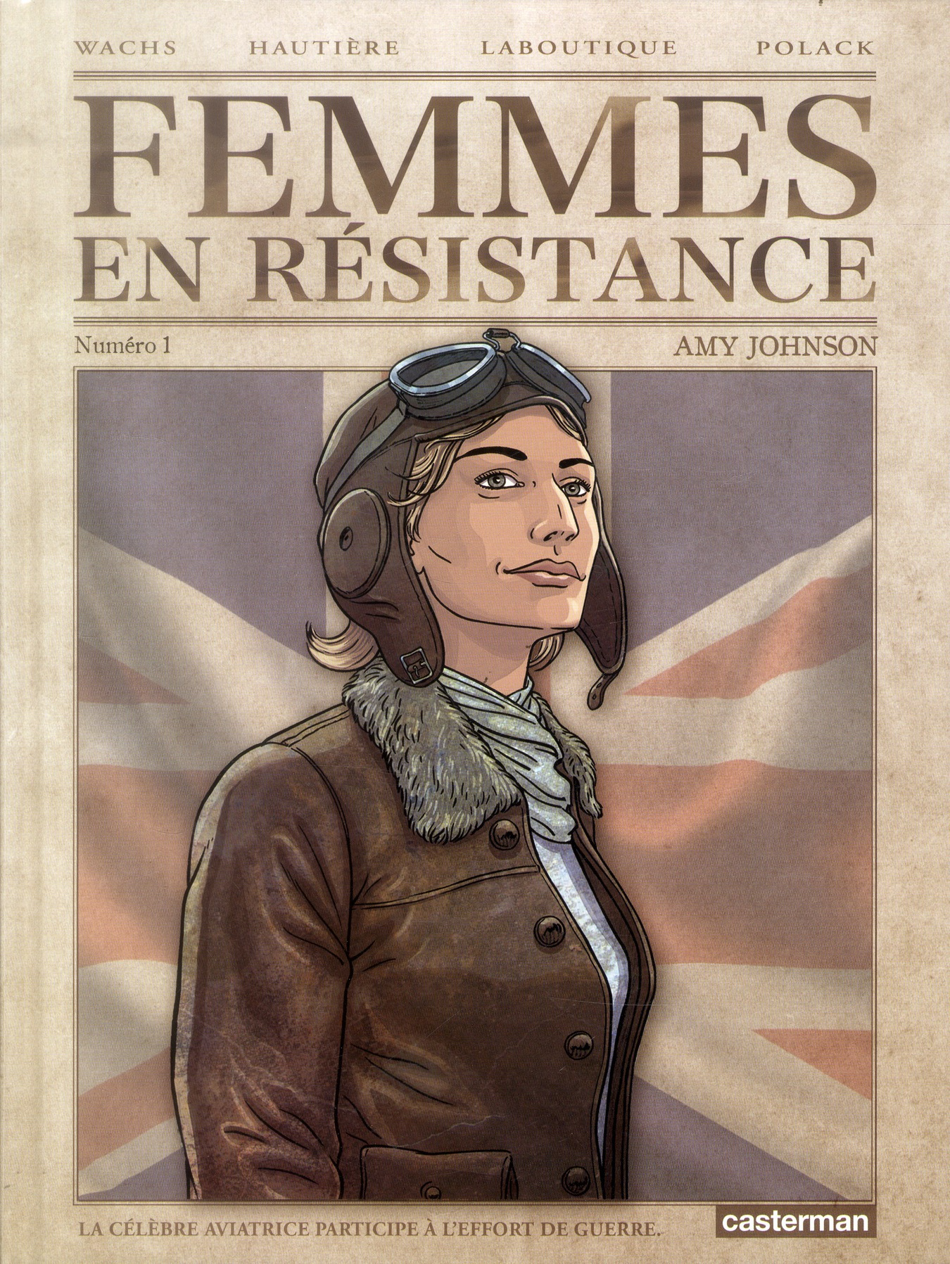 FEMMES EN RESISTANCE T1 AMY JOHNSON