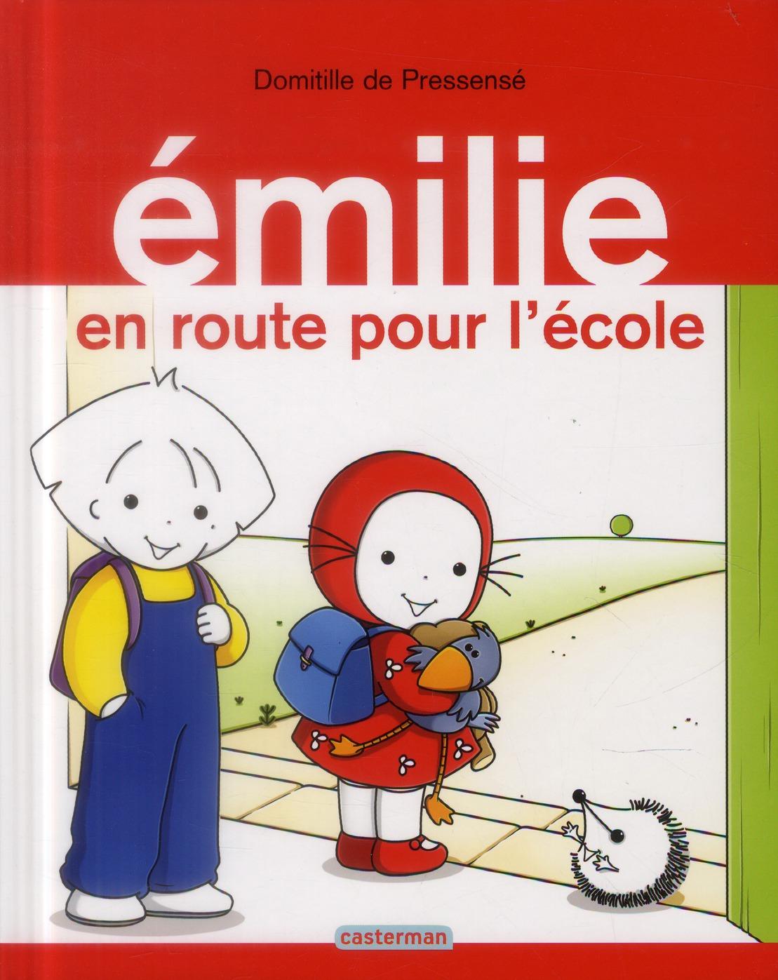 EMILIE EN ROUTE POUR L'ECOLE - ALBUMS - T21