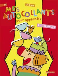 MES AUTOCOLLANTS POUR APPRENDRE - LES COULEURS