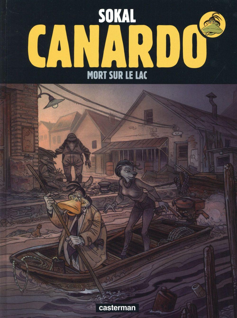 CANARDO T23 MORT SUR LE LAC