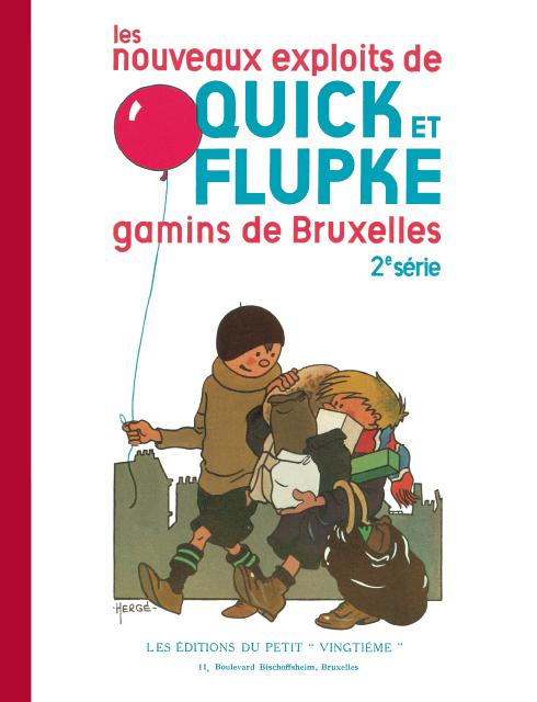 QUICK & FLUPKE T2 GAMINS DE BRUXELLES (FAC SIMILE N&B)